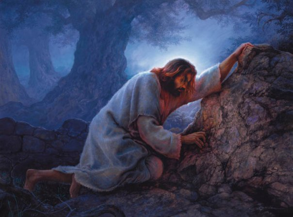 This image has an empty alt attribute; its file name is christ-in-garden-of-gethsemane.jpg